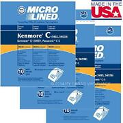 30x Dvc Vacuum Cleaner Bags 50558 5055 50557 For Sears Kenmore Type C Q Canister