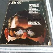 Look Magazine May 19th 1970 The Secret World Of The Gambler