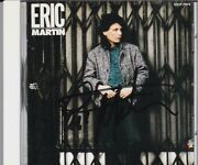 Eric Martin Signed Japan Cd Very Rare Autographed Mr Big 80's Melodic Rock