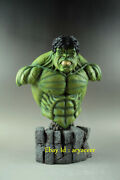 Avengers 14 Green Giant Invincible Hulk 30cm Bust Statue Decoration In Stock