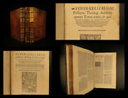1545 Saint Venerable Bede Bible And Commentary English Monk Church Cosmology