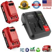 20v Max Lithium Battery Pcc692l Charger / 2.5ah Battery For Porter Cable