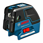 [bosch] Gcl 25 Self Leveling 5-point Alignment W/ Cross Line Laser ⭐tracking⭐