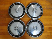 1971 Ford Mustang 14 Hubcaps 1972 1973