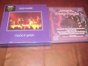Deep Purple Box Sets Made In Japan 9 Lp Box And 60 Page Book + Concerto = 12 Lpand039s