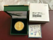 2001-cw South Africa Natura Special Launch - The Gemsbokoryx 1 Oz Gold Proof