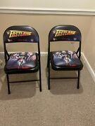 Wwe Fast Lane Fan Chair Ring Side Limited Editon Very Rare Excellent Condition