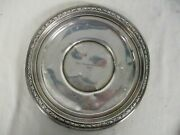 Wallace Sterling Silver Trophy Plate Engraved Bristol Ct City Championship 1931