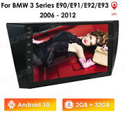 For Bmw E90-e93 Headunit 9and039and039 Android Quad-core Car Stereo Radio Gps 32gb Rom