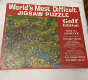 Worldand039s Most Difficult Jigsaw Puzzle Golf Edition New