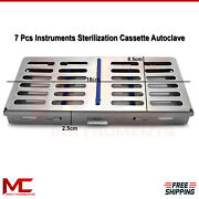 Surgical Instruments Sterilazation Cassette Autoclave Sterilising Rack Tray