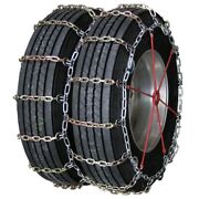Heavy Duty Square Alloy Dual Cam 305/70-22.5 Truck Tire Chains
