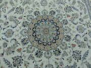 9and039x12and039 New Excellent Wool And Silk Luxurious Handmade High Kpsi Oriental Rug