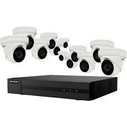 Hikvision16-channel 4k Nvr With 4tb Hdd And 12 4mp Outdoor Ir Turret Cameras 2.