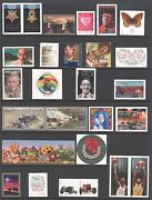 2014 U.s. Commemorative Year Set 64 Stamps With Imperf Circus S/s Mint-nh