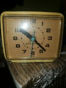 Vintage General Electric Lighted Dial Clock Clock Is Working Fine Light Is Not
