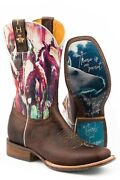 Womenand039s Tin Haul Highbrow Horses Horse And039true Loveand039 Western Boots Size 8 10 11