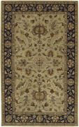 Surya Beige Traditional - Persien/oriental Hand Tufted Area Rug Floral Crn-6007