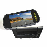 Reverse Backup Camera + 7 Inch Clip-on Rear View Mirror Monitor For Ford F150