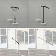 Hand Rail For 1 Or 2 Step Wrought Iron Handrail Steel Railing Stair Post Railing