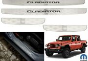 Oem Mopar 82215552ac Front And Rear Door Sill Guards For 2020+ Jeep Gladiator New