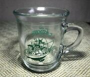 Vintage Promo The Jetsons Family Flying In Spaceship Glass Mug