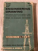 Engineering Drawing Barnes And Noble Paperback Book 1957