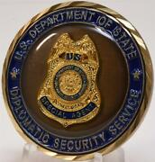 State Dept Regional Security Officers Dos Special Agent Diplomatic Service Coin