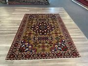 On Sale S.antique Beautiful Genuine Vintage Hand Knotted Uniquearea Rug 5x71695
