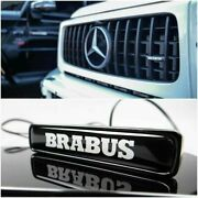 Led Front Grille Badge Brabus Style Made For Mercedes G63 G Class W464 W463a