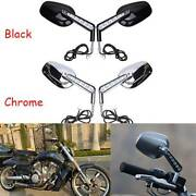 Motorcycle Rear View Mirror Led Front Turn Signals For Harley Vrod Vrscf 2009-17
