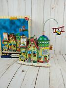 Rare '07 Lemax Village Collection North Pole Travel Lighted And Animated Watch Vid