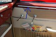 Vw Karmann Ghia, Above Door Panel Moldings 1955-1966 Convertible Cabriolet Only