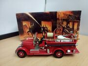 O220-matchbox Collectibles Yfe15 1935 Mack Ab Fire Engine In Box