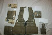 Us Military Issue Tac Vest Molle Usmc Load Bearing Pistol Holster Pouches Set