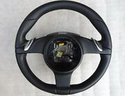 Porsche 991 997.2 Boxster Panamera Leather Pdk Steering Wheel 99134780307a34