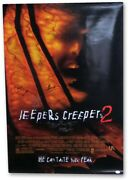 Jeepers Creepers 2 Cast Autographed 27x40 Movie Poster Salva Wise Jsa Ii59831