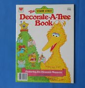 The Sesame Street Decorate A Tree Press Out Ornaments Christmas Vintage 1979