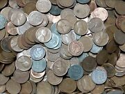 Unsearched Lot Of 500 Lincoln Wheat Pennies Cents Lot Plus Indian Head Cent