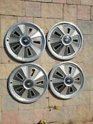 Set Of 4 Matching 14 Inch Wheelcovers Ford Mustang 1965