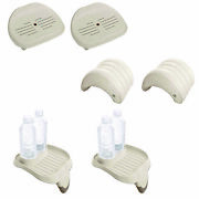 Intex Inflatable Hot Tub Seat Attachable Cup Holder Inflatable Head Rest