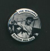 Ted Williams Boston Red Sox Pin Button 4057