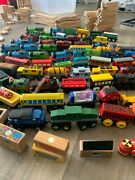 Huge 450+ Piece Thomas And Friends Wooden Train Set