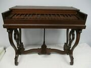 Super Rare Antique New Haven Melodeon Co. New Haven Ct Childand039s Size Melodeon