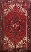 Vintage Hand-knotted Traditional Geometric Area Rug Home Decor Oriental 8and039x11and039