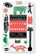 African Proverbs Gift Editions By Wolf Leslau Hardback Book The Fast Free