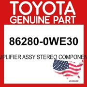 Toyota Genuine Oem 86280-0we30 Amplifier Assy Stereo Component 862800we30