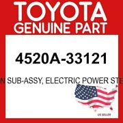 Toyota Genuine Oem 4520a-33121 Column Subassy Electric Power Steering 4520a33121