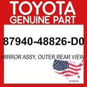 Toyota Genuine Oem 87940-48826-d0 Mirror Assy Outer Rear View 8794048826d0