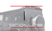 Mercedes G-class W463a W464 Carbon Rear Air Intakes Covers Attachment Autoclave
